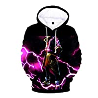 Game Fortnite 3D printing Hoodie Sweatshirt long sleeve fashion coat for Unisex MU M