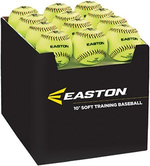 Easton Fall mit Menge von 36Soft Training Bälle, Neon, 25,4cm