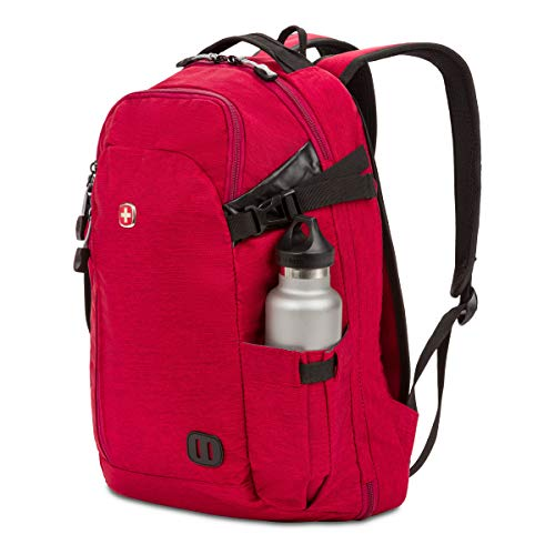 Swiss Gear Hybrid 21 Ltrs Red Laptop Backpack (3555431416) Image 8