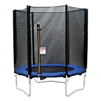 Donnay Unisex 8ft Trampoline with Enclosure Outdoor 8ft 8ft