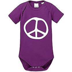 Body bebé Peace Symbol Illustration by Shirtcity