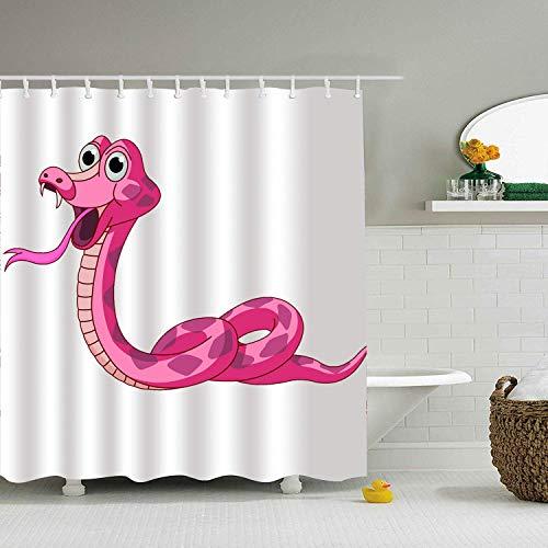 Haloxa Tiger Tattoos Fashion Shower Curtain Print Waterproof Bath Curtain Fashion8044