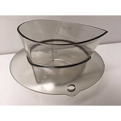 Original de la marca Vorwerk jarra medidora para Thermomix TM5 100 ml de capacidad con tapa, diseño de