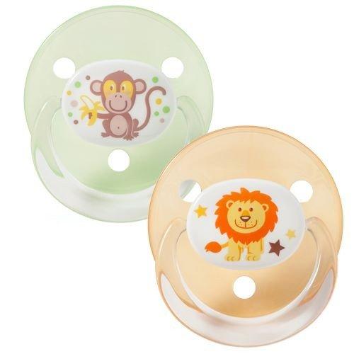 Preisvergleich Produktbild Baby Nova Kirschform Schnuller Gr. UNI 0-18+ Monate, Silikon