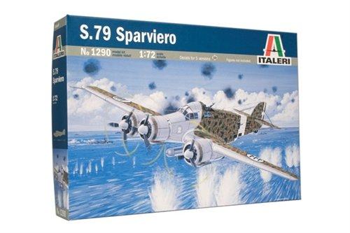 Italeri 1290 - S.79 Sparviero modellismo aerei Model Kit Scala 1:72
