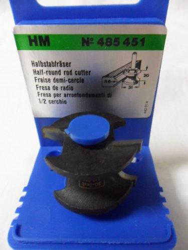 Festool 485451 HM-Halbstabfräser 31 mm MULTIFORM PLUS
