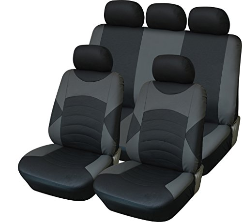 VAUXHALL VIVARO 2010 PREMIUM BLUE PIPING VAN SEAT COVERS SINGLE DOUBLE