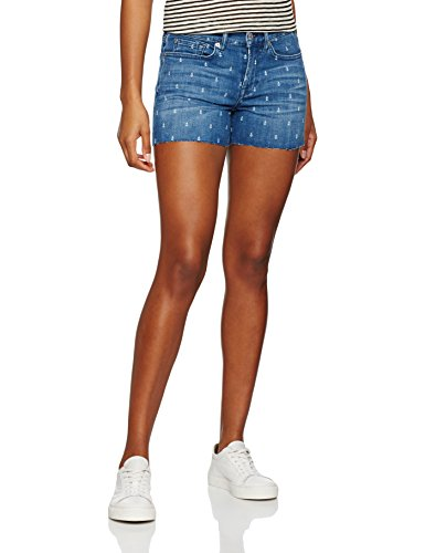 7 For All Mankind Slouchy Shorts, Pantaloncini Donna