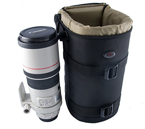 Qualitäts Köcher für Kameraobjektive von PROFOX - Modell Nr. 9-240mm x 115mm z.B. für...
