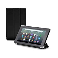 Nupro tri-fold standing case for Fire 7 tablet, black