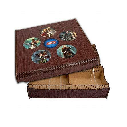 ADC Blackfire Trading Card Storage Box Hero Realms / Aufbewahrungsbox für 1200 Sammelkarten