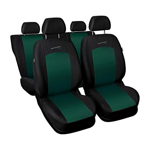 Preisvergleich Produktbild (S-GR) Universal Autoschonbezug-Set kompatibel mit MERCEDES-BENZ (190, 200, 300, A-Klasse, B-Klasse, C-Klasse, E-Klasse, ML-Klasse)