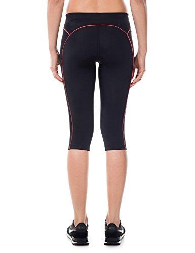 SYROKAN Damen Leggings Sport Strumpfhose – Capri Pants Laufhose - 3