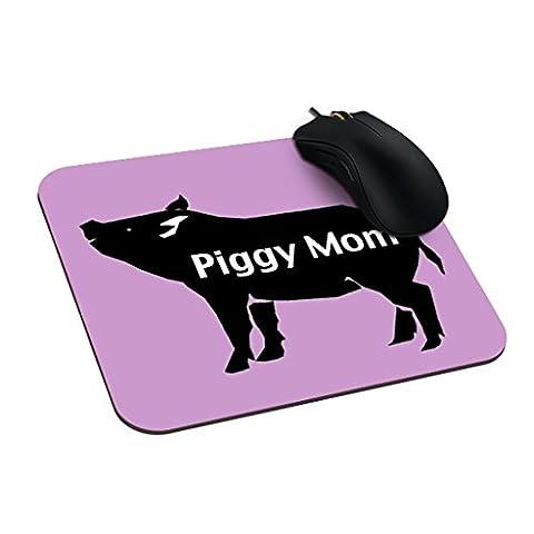 Eleganceelegant 23,5x 19,7cm Tapis de souris personnalisés Pot Belly personnalisée Gaming Mouse Pads