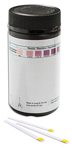 100 Strisce per test chetoni/chetosi urina, strumento per perdita di peso dieta Atkins