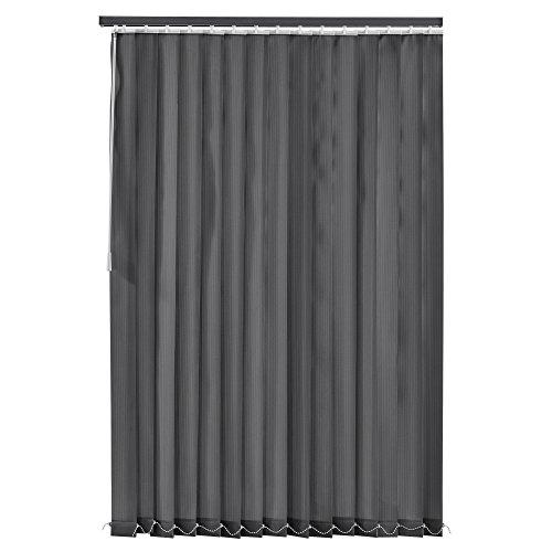 [neu.haus] tenda a lamelle verticali - oscurante - 200x250 cm - grigio