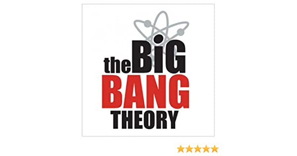 Empireposter The Big Bang Theory Logo Sticker Approx 10x7 Cm Amazon Co Uk Kitchen Home