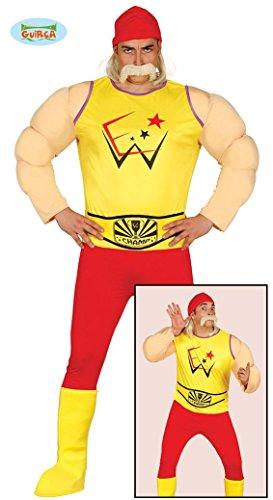 KOSTÜM - WRESTLER - Größe 52-54 (L), Verfilmung Fantasy Ringer Catchen Wrestling Hulk (Für Kostüme Männer Wrestling)