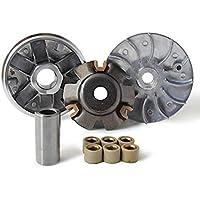 Xfight-Parts Kupplung komplett Riemensch Glocke 136.5mm 4Takt 125//180ccm 152QMI GY6 Jonway RS 1000 REX