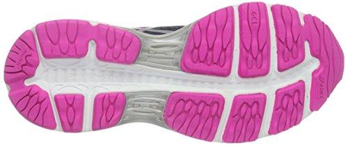 Asics Gel-Cumulus 18, Chaussures de Running - Femme - Multicolore (indigoblue/silver/Roseglow)
