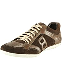 BACCA BUCCI MEN BROWN GENUINE LEATHER CASUAL SHOES