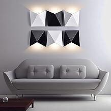 K Bright LED Wandleuchten7W Aluminium Modern Wand LampeWandbeleuchtungWasserdicht IP