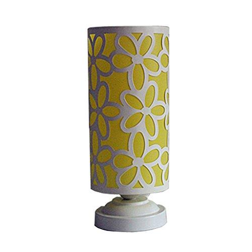 Tisch- & Nachttischlampen-WXP Energie sparen Nacht Licht Fütterung Licht Europäische Lampe Schlafzimmer Nachttisch Heirat Raum Lampe Warm Licht Art und Weise Nachttischlampe -WXP ( Farbe : Gelb )