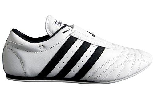 Adidas scarpe taekwondo classico, bianco (bianco), 38