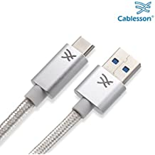 Cablesson Maestro USB C a USB A Cable de 3 m (3 metros) (C a A) para Samsung S8, Nintendo Switch, el nuevo MacBook, Chromebook Pixel, Nexus 5X, Nexus 6P, Nokia N1 Tablet, OnePlus 2 y más USB Tipo- C Dispositivos.