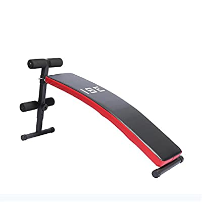ISE Folding Sit Up Bench Abdominal AB Crunch Weight Bench Home Gym Fitness Exercise SY5007B by ISE