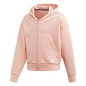 adidas Unisex Kinder Yg Mh 3s Fz Hd Sweatshirt