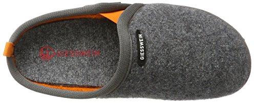 Giesswein Nieden, Pantofole Unisex-Adulto Grigio (Schiefer)