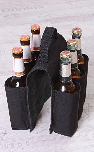 Fahrrad Biertasche Bike Bottle Bag Bierträger für 6 Flaschen Bier Maitour