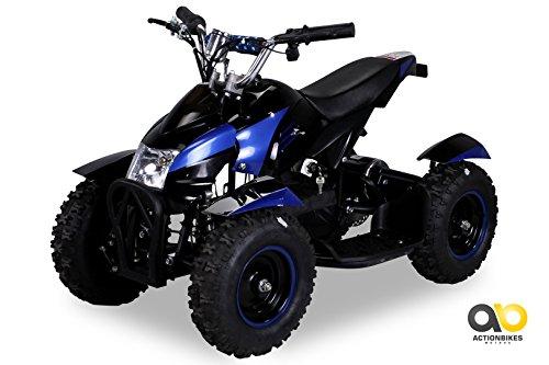 Mini Elektro Kinder ATV Cobra 800 Watt Pocket Quad (blau)