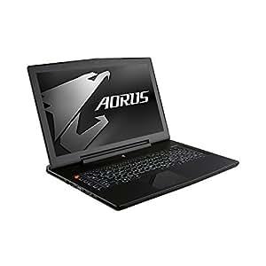 "PC Portable - AORUS X7 Pro v4 K3W10-GS-FR - Intel Core i7-5850HQ 16 Go SSD 512 Go (2x 256 Go) + HDD 1 To 17.3"" LED Full HD G-SYNC NVIDIA GeForce GTX 970M SLI Wi-Fi AC/Bluetooth Webcam Windows 10 Famille 64 bits"
