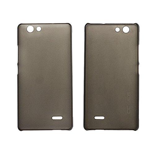 Guran® Hart Plastik Schutzhülle Case Cover für Oukitel C4 Smartphone Hülle Handytasche Etui-grau