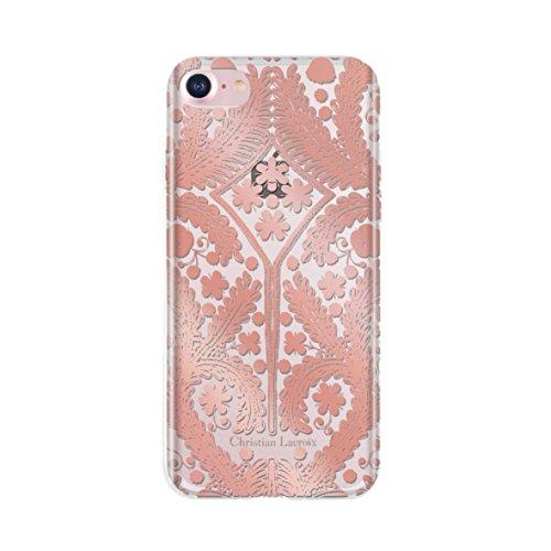 christian-lacroix-clpsmcovip7r-carcasa-metal-para-iphone-7-transparente-rosa