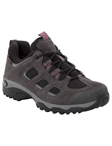 Jack Wolfskin Damen Vojo Hike 2 Texapore Low W Wasserdicht Trekking-& Wanderhalbschuhe, Grau (Dark Steel/ Black 6059), 43 EU