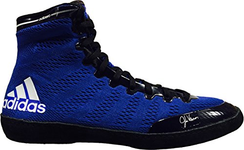 Adidas Adizero Varner Wrestling chaussures, Royal / blanc / noir, 4 M Us azul real/blanco/negro