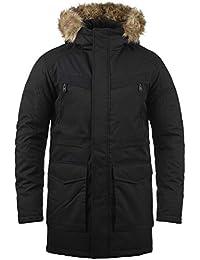 478cff38bfd9 JACK   JONES Wind Men s Parka Outdoor Jacket Winter Coat With Fur Hood