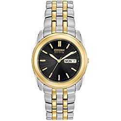 Citizen Men's Eco-Drive Two-Tone Stainless Steel Watch #BM8224-51E