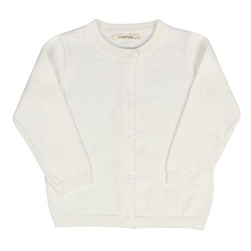 Unisex Baby Kinder Candy Farbe Strickjacke Kinder Frühling Herbst Baumwolle Oberbekleidung (4t Gerippt)