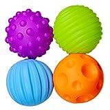 kentop Babymassage Softball Spielzeug BB Ball Baby Spielzeug Weicher Ball für Babys 7 cm