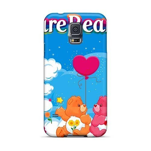 shock-absorbent-hard-phone-cases-for-samsung-galaxy-s5-with-unique-design-lifelike-aww-carebears-car