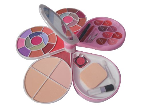 ADS Color Series 26-Eyeshadow, 2-Blusher, 4- Powder Cake, 8-Lipcolour Fine A3969