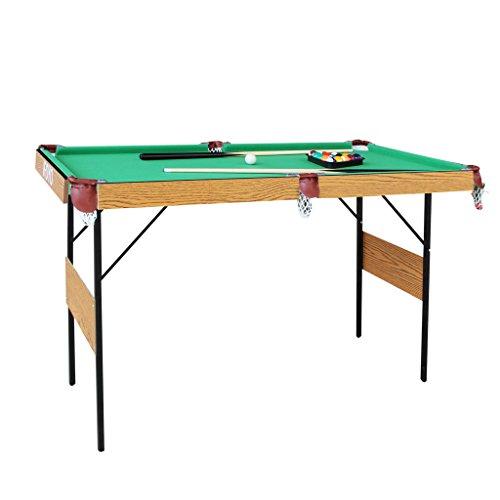 Ifoyo 140 cm pieghevole tavolo da biliardo Space Save tavolo da biliardo