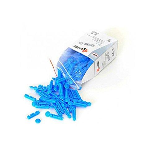 Scopri offerta per Lancette pungidito Pentaferte sterili compatibili Multicare