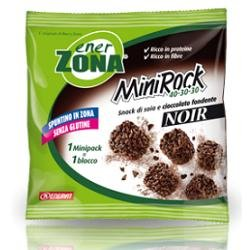 Snack Per Il Controllo Del Peso, Enerzona Minirock Noir Soia E Cioccolato Fondente 1 Busta Dieta Zone