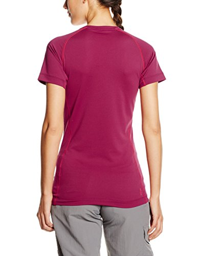 SALEWA Damen SOLIDLOGO DRY T-Shirt Red Onion