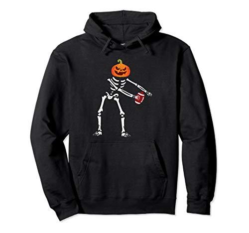 Flossing Skeleton Funny Football Lover Floss Dance Pullover Hoodie